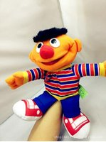 active dolls - new style Sesame Street Puppets cm soft mini dolls Mouth active hand puppet Interactive expert toys for children china toy