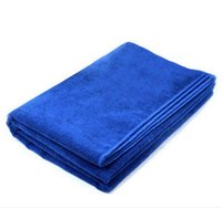 Wholesale Microfiber Car Cleaning Towel Microfibre Car wash Cloth Hand Towel hot selling high quality cm cm thickening