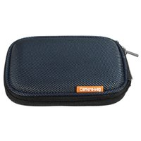 Wholesale Deep Blue new Compact Digital Camera Protective Hard Case Bag For Nikon For Canon For Sony For Samsung DC