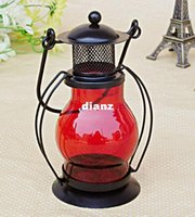 alcohol home bar - Fashion Hot Zakka Iron Candlestick Candle Holder Kerosene alcohol lamps Holiday gift Home decoration
