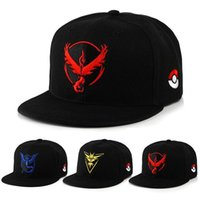 Cheap New Arrival pikachu Hat Snapback Baseball Cartoon Children Adult Sports Hip Hop Pikachu Mesh baseball hockey Sport Hat Free Shipping MC0358
