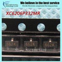 al por mayor nuevo regulador de voltaje-Wholesale-50pcs envío libre XC6206P332MR 662K XC6206 3.3V / 0.5A Positivo fijo LDO regulador de voltaje SOT-23 original nuevo