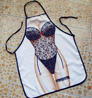 Cheap 2016 Sexy Cooking Aprons Funny Novelty BBQ Party Apron Naked Men Women Lovely Rude Cheeky Kitchen Cooking Apron Multicolor