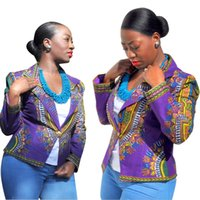 Wholesale New African Riche woman blazer women imitate silk fabric production of fashion generous national costume printing design