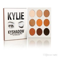 Wholesale Kylie Eyeshadow Cosmetics Jenner Kyshadow Pressed Powder Eye Shadow Kit Palette Bronze Preorder Cosmetic Colors