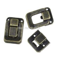 antique latch - 10 Sets Toggle Catch Latch Suitcase Case Box Trunk Box Antique Bronze cm x cm cm x cm B01199