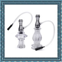 bend acrylic tube - Newest snuff bottle smoking pipe cigarette holder tobacco pipe Acrylic Material Skin tube Men must pipe high quality Hot sale DHL free