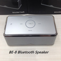 For Mobile Phone best bluetooth speaker phone - Super Bass BE BE8 Bluetooth Speaker High Fidelity Transmission Stereo Subwoofer Wireless Bluetooth NFC Touch Function Best Sound