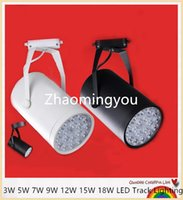 Wholesale YON W W W W W W W LED Track Light AC V Tracking Lights For Clothing store Bar shop showroom exhibition fixture