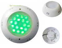 Wholesale 2PCS X3W Wall Mounted LED Pool Light Remote Control RGB Pool Light LED Underwater Light In Swimming Pool W