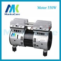 air compressor head - Manka Care Motor W Dental Air Compressor Motors Compressors Head Silent Pumps Oil Less Oil Free Compressing Pump