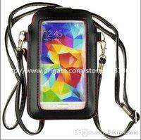 Compra Bolsillos bolsillos-Samsung Galaxy S6 Bolsillo inclinado de la bolsa de la caja del bolso de hombro para el teléfono móvil Caso de Iphone 6 Samsung Galaxy S6 S5 5,2 pulgadas General