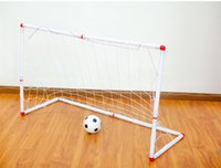 Wholesale retail chirldren indoor and outdoor entertainment assembled football goal cm kids soccer goal