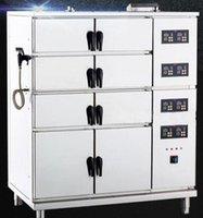 Wholesale HSC U E Ten Door Electric Digital Power Multifunctional Intelligent V kw Combination Steam Cabinet Fish Rice Hotel Catering Business
