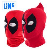 animations camping - New Popular Lin animation Deadpool Halloween Mask hoods hood hood Deadpool summer sun