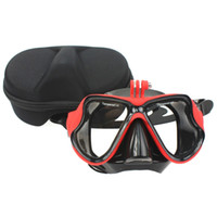 Wholesale Camera Mount Diving Mask Scuba Snorkel Swimming Goggles for GoPro Hero xiaomi xiaoyi camera
