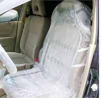 Wholesale In stock Car Disposable Auto Plastic Seat Films Covers