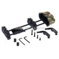 aluminum structures - super quality compound bow or crossbow arrow quiver cambo carbon tube structure quick lock mounting bracket fully adjusted