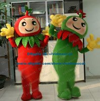apple seedling - Likable Red Green Tomato Love Apple Plantlet Seedlings Young Plants Mascot Costume Cartoon Character Mascotte Adult ZZ504 FS