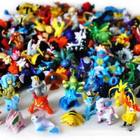Wholesale Poke Action Figures Multicolor CM PVC Pikachu action Figures DHL shipping E1164