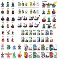 Wholesale 480pcs Hot styles High Quality without box Mini Figure avenger super hero ironman batman Flash Building Blocks toys D650