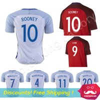 Wholesale ROONEY Soccer Jersey Euro cup Vardy jersey Home Away Football shirt KANE VARDY Maillot de foot english Soccer Jersey