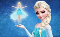 Wholesale Flying Fairy Frozen Princess Elsa Doll Helicopter Fly Toy