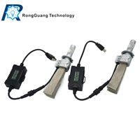 belt drive systems - 1 Set H7 S PHILI LED Headlight Kit System LUXEON ZES LED Chips All in One Fanless Aluminum Belt Driving Fog Single Lamp