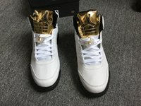 authentic olympic gold medal - Flighe Club AIR JORDAN WHITE GOLD TONGUE COIN MEDAL OLYMPIC AUTHENTIC Foot Locker Wiith Box Free Shopping US