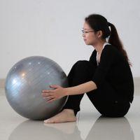 Wholesale Yoga Ball cm Exercise Gymnastic Fitness Pilates Balance Exercise Gym Fit Yoga Core Ball Indoor Fitness Training Yoga Ball
