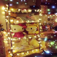 Wholesale LED star lights string lights flash lights string lights Gypsophila rooms decorated lights battery lights wedding festive Christmas