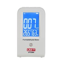 Wholesale High Precision Indoor Formaldehyde Data Logger Detector Air Monitor Thermometer Hygrometer LCD Display EU Plug