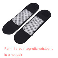 Wholesale Magnetic Therapy Tourmaline Wrist Brace Protection Belt Heating Massager Health Care