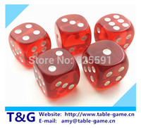 Wholesale set T amp G dice High Quality mm sided Multi Colored Dice D6 dungeon and dragons customize