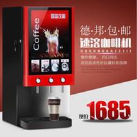 Wholesale TRANSAID three head is adjustable hot drink machine automatic adjusting machine is tea Nestle commercial Instant Coffee machine