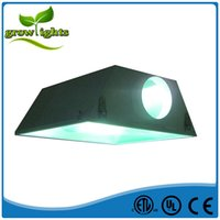 air cooled grow - Hydroponic Equipment Manufacturer Air Cooled Lamp Cover Grow Light Reflector light fixture Hood