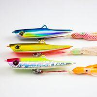 achat en gros de aider crochet jigging-3pcs 150g 5.3oz Jigs Japonais Inchiku avec Octoups Assist Hook, Squig Jigging, eau de mer Bottom Ship Snapper Fishing Lure