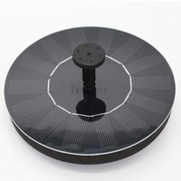 Wholesale 20pcs Solar Power Brushless Submersible Water Pump Floating Panel Pool Pond Watering XQ0140