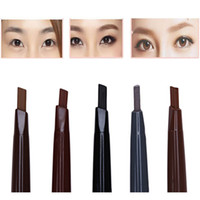 Wholesale Fashion Eyebrow Pen Automatic Eyebrow Pencil Waterproof Long Lasting Makeup Single Headed Rotary Nature Eyebrow Pen For Beauty Make Up