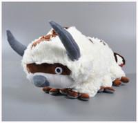 appa plush - Hot Anime Kawaii Avatar Last Airbender Appa Plush cow Toy Soft Juguetes Stuffed Animal Brinquedos Doll Kids