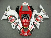 Wholesale Hot Sale Red White R1 ABS Fairing Injection Bodywork Kit For YAMAHA YZF R1 Free gifts
