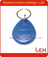 Wholesale Best TK4100 KHZ Plastic Keyring Round Key Rings ID Tags