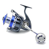 ball jig - 30KG Power Drag Ball Bearings Spinning Reels Sea Fishing Boat Fishing Jigging Fishing Reel