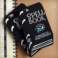 apple spells - Fashion Silicon Fundas Coque Mobile Spell Book Phone Cases For Apple iPhone plus s s plus plus Women Case Cover Capa