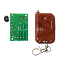 Wholesale New DC12V CH Wireless Relay module RF smart receiver with remote control Switch Transmitter Receiver