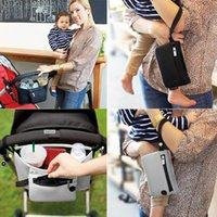 Wholesale Stroller Organizer Baby Basket Pushchair Travel Diaper Nappies Storage