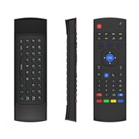 Wholesale Genuine mx3 Keyboard Fly AirMouse Mini Wireless Remote Gyroscope MX3 For Amazon Fire Tv Stick MXQ M8S Amlogic S905 STB Android TV BOX