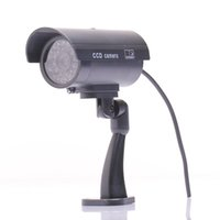 Wholesale Security Camera Wifi Fake Camera Dummy Emulational Camera Cctv Camera Bullet Waterproof Outdoor Use For Home Security With Flash