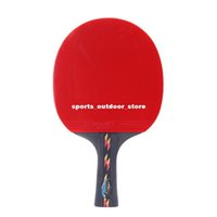 Wholesale Rubber Table Tennis Racket Pingpong Paddle Bat Case Bag for Sports Fitness Gym Black Red H12321