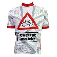 Wholesale Mens Ciclismo Cycling Jersey Comfortable Bicicleta Bicicleta camisa Ciclista Dentro Estrangeiro SportsWear Branco ciclismo vesture jerseys